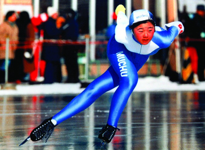 小学校四年二宮小学校グランド200m手作りリンク(田畑さん)