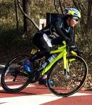 沢田選手自転車